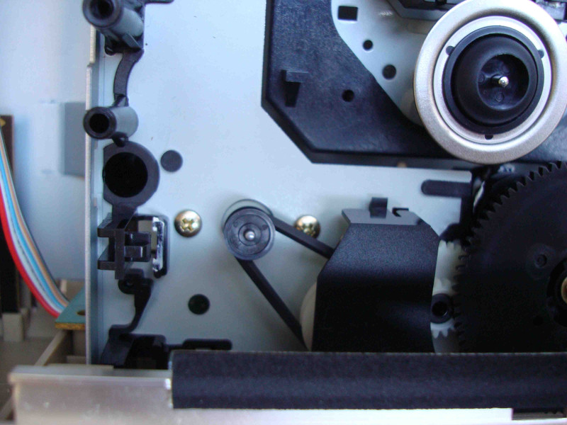 Repair of CD Player Tray