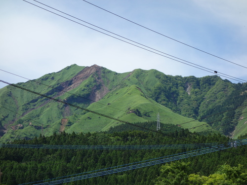 Mountain near Isshingyo-No-Oozakura