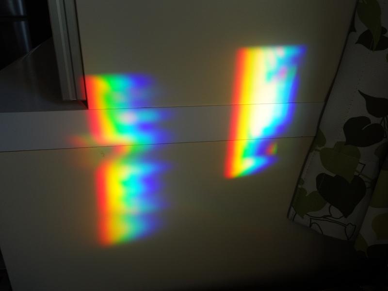 太陽光のスペクトル
