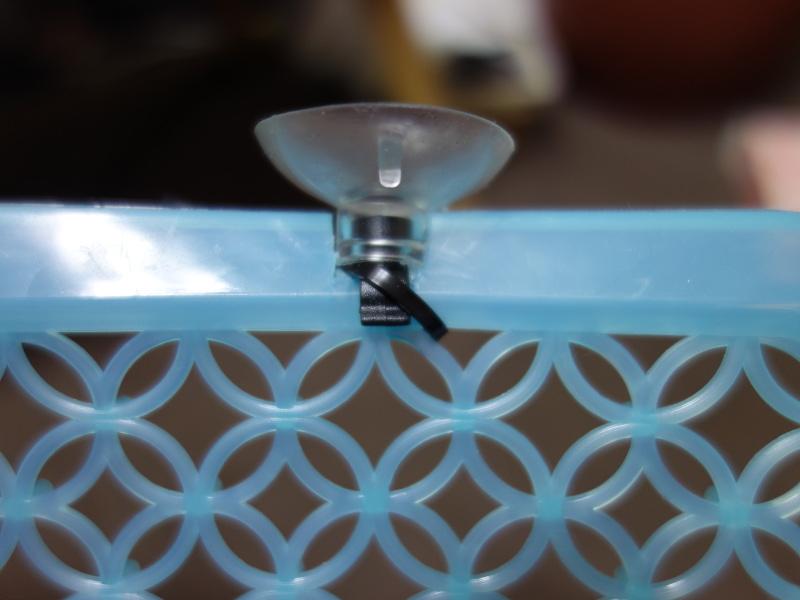 60cm水槽用手作りセパレーター